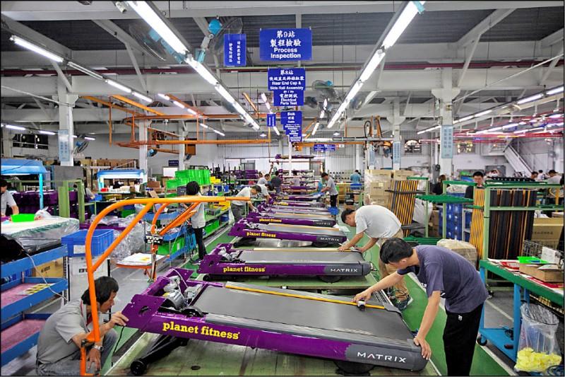 工業生產連3紅 4月成長3.51%