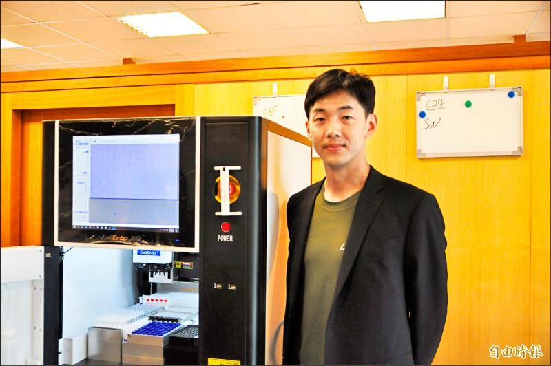 〈財經週報-財經焦點〉列特博15年打造MIT夢 RT-PCR快篩機獲認證