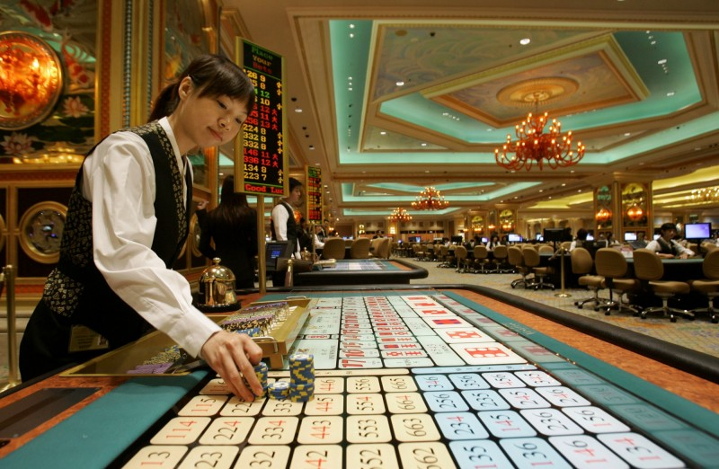 台灣賭客狂灑19億 1人貢獻澳門賭場5月營收3成