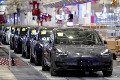 中國製Model 3銷量翻倍 特斯拉股價飆至歷史新高