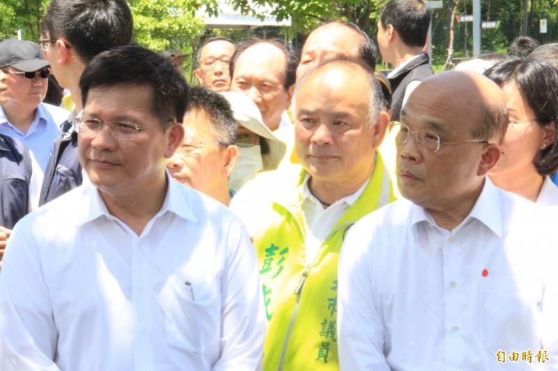 中央鬆綁禁奢令 蘇貞昌:政府會議訓練可住飯店