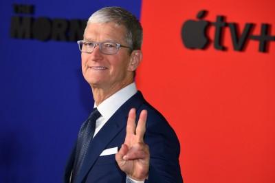 市值登頂2兆美元  蘋果只差20%漲幅