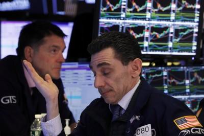 美國疫情病例飆升  美股道指早盤下跌逾500點