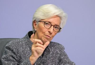 歐央行總裁:疫情最嚴重時期已過  復甦期將有變革性變化