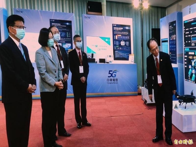 5G開台》中華電信2000座基地台  流量可轉贈