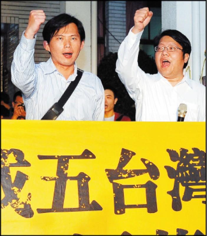 黃國昌vs.賴中強 太陽花戰友變對手
