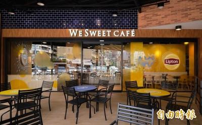 全聯攜手立頓 打造台北首間We Sweet Café聯名咖啡廳