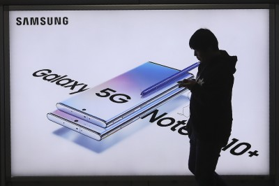 三星5G手機龍頭地位不保!調查指今年被華為、蘋果超越