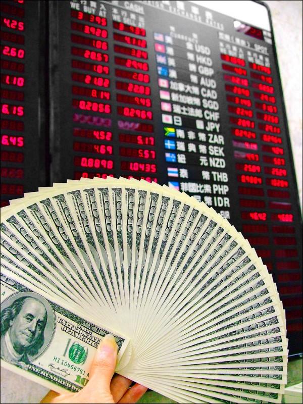 外匯存底創新高 央行進場阻升台幣