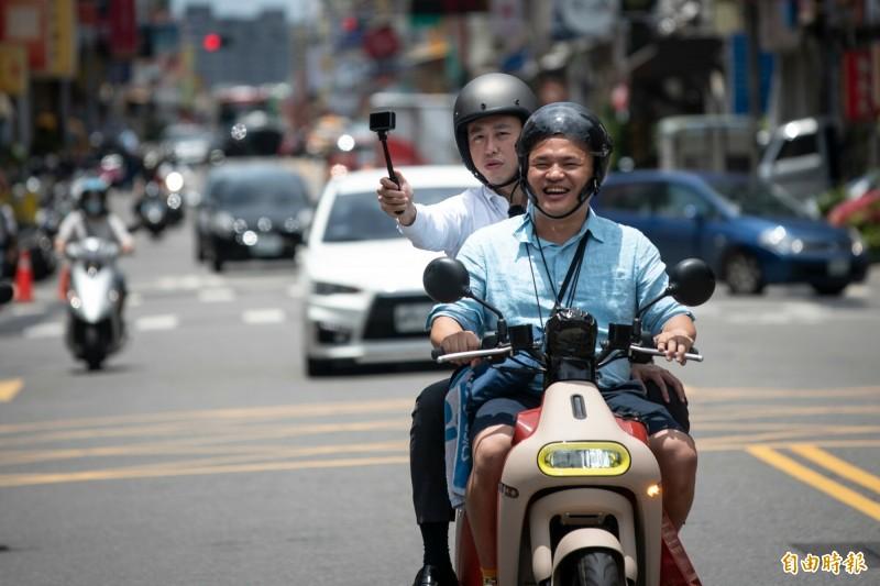 搶攻暑假及三倍券觀光商機 林智堅當網紅傳授竹市旅遊新攻略