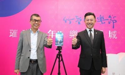 聯發科董座蔡明介挺在地藝文 捐贈AI防護門