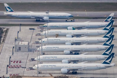 每月燒掉逾95億現金 國泰航空料上半年淨虧損383億元