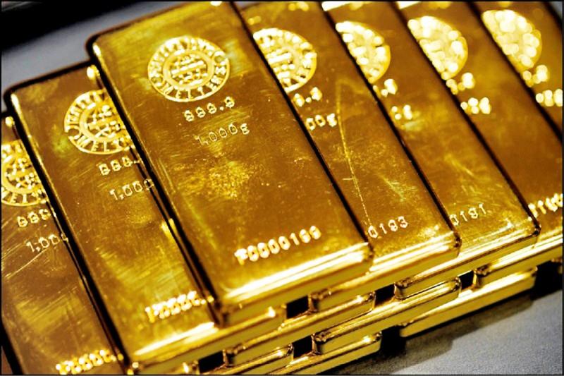 金價站穩1800美元》央行黃金儲備 帳面賺逾5千億
