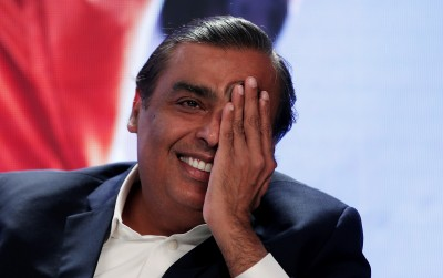 身價2.27兆!印度首富安巴尼成為全球第5大富豪