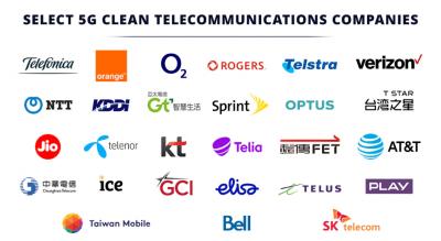 美國務院更新「乾淨5G」名單  台灣5電信商全入列