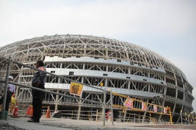 大巨蛋前後設計監造人、建築師  均被處停業兩年處分