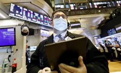 美Q2 GDP劇減、4科企巨頭股價跌  道指開盤大跌逾400點