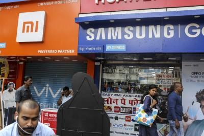三星受益印度抵制中貨 趁勢大推低價手機市佔攀第2