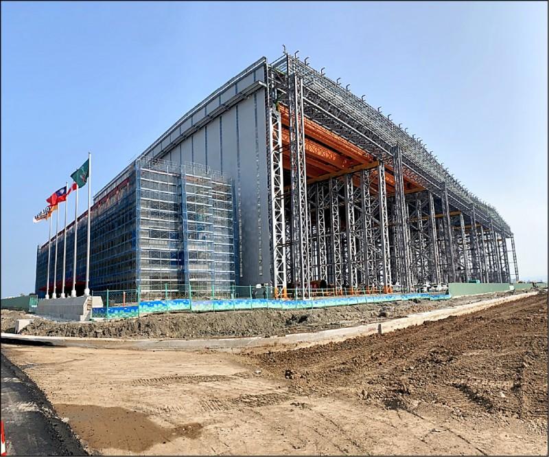 世紀鋼砸逾10億 打造台北港室內組裝廠