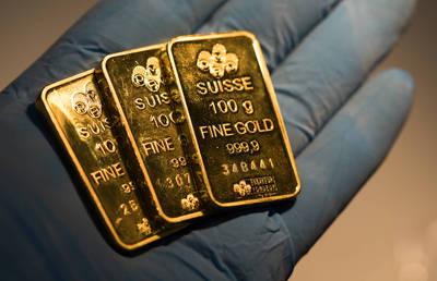 美元走軟 黃金連2漲、站回1950美元
