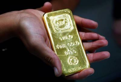 黃金受益美股動盪 本週收漲0.7%