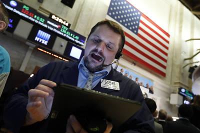 中、美經濟數據佳 美股開盤齊漲、道指漲逾200點
