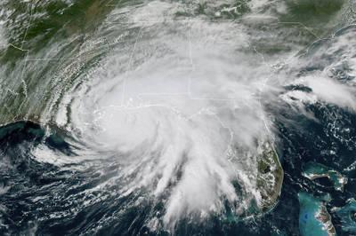 颶風直撲美國墨西哥灣沿岸 國際油價上漲