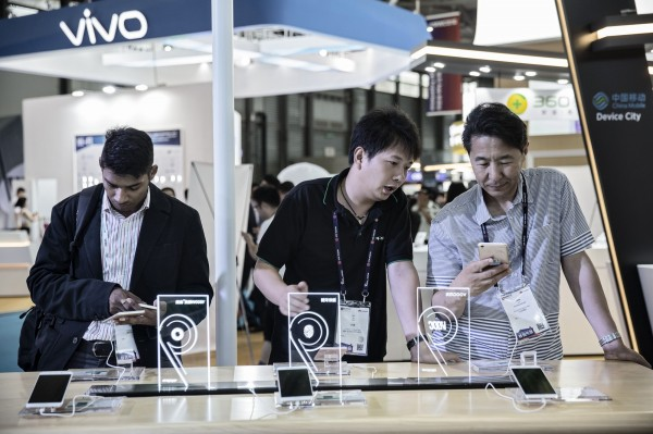中國智慧手機競爭激烈 品牌消長快速輪動