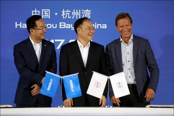 中國吉利董座成戴姆勒最大股東 德經長:格外戒慎警惕