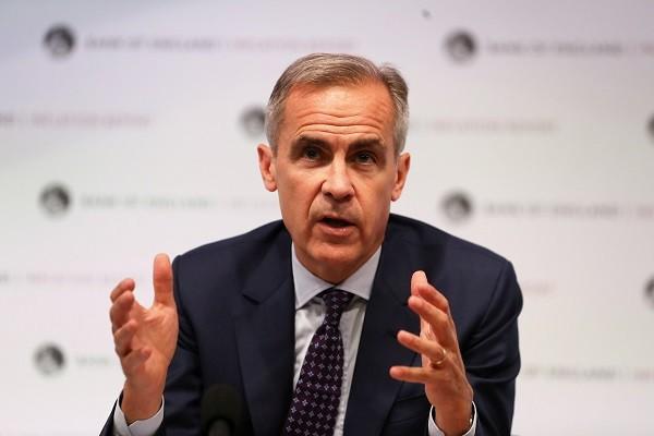 英國央行總裁任期再延 確保平穩脫歐