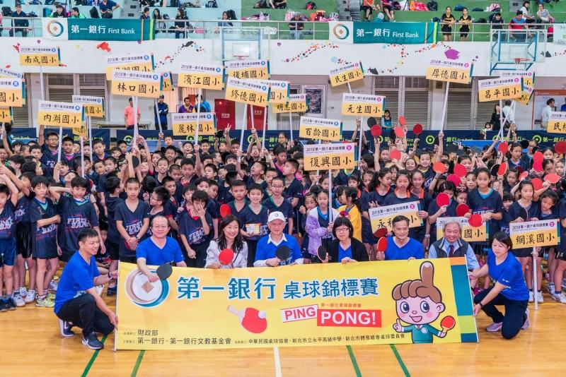 第一銀桌球錦標賽連續10年熱血登場 吸引上百支隊伍競技