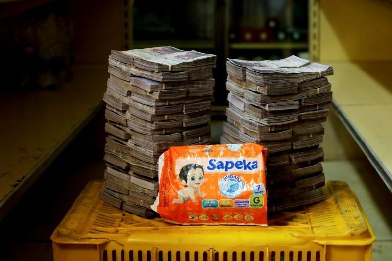 委內瑞拉反對派人士透露 委國1年通膨率逼近49萬