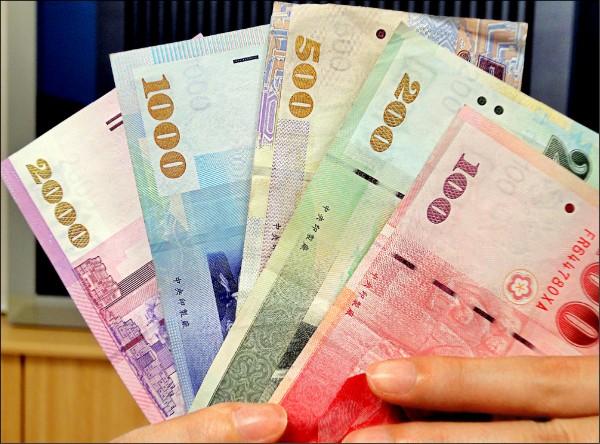 韓元走升 新台幣升2分收30.92元