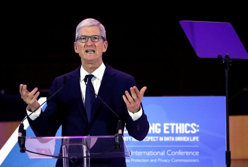 蘋果執行長庫克:美國應實施全面性聯邦隱私法