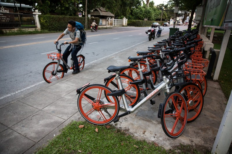 Panasonic和中國摩拜合作  推共享電動自行車
