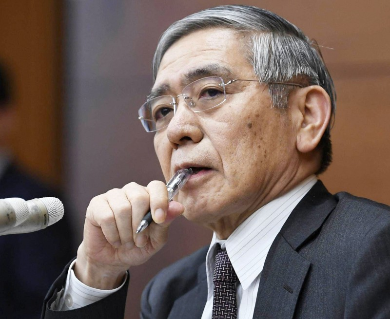 日央行總裁強調經濟可抵衝擊 但政策仍需寬鬆