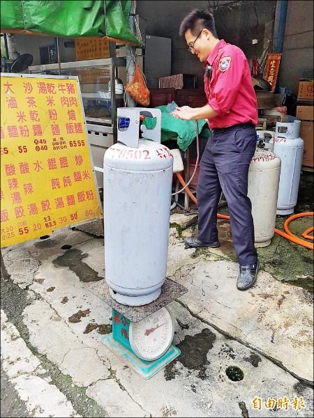 一月氣價》瓦斯降0.4元 天然氣漲2.99%