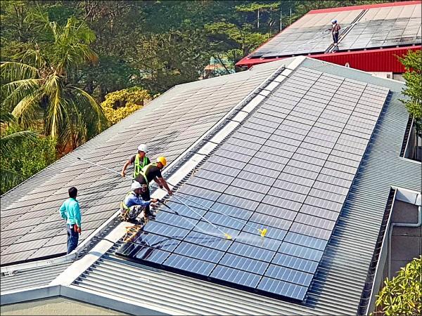 目標3GW 屋頂型太陽光電 可望提早六年達標