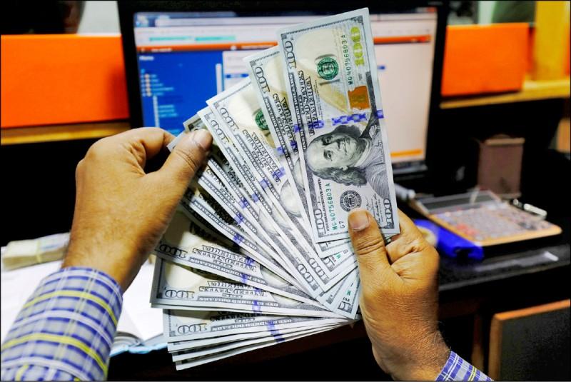 外資持續匯入 新台幣升0.8分