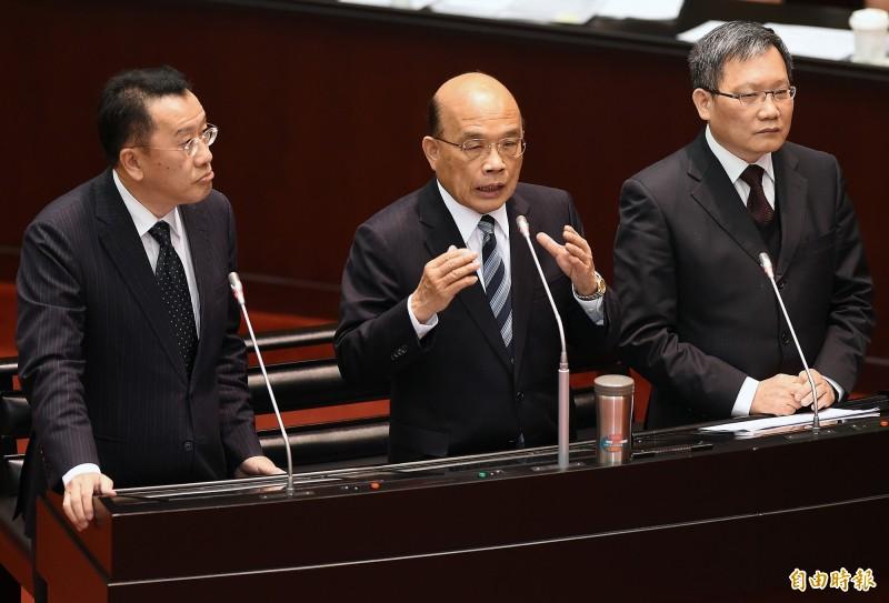鼓勵海外台商返台投資 蘇貞昌提六大區塊