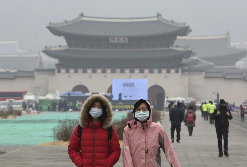 霧霾成南韓「國家災難」 去年經濟損失超過千億!
