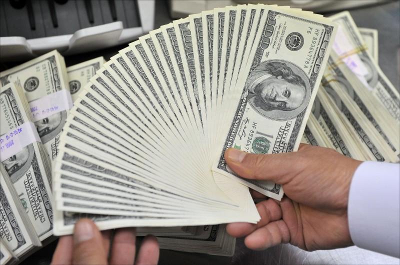 外資匯入 台幣升5.6分 收30.832元