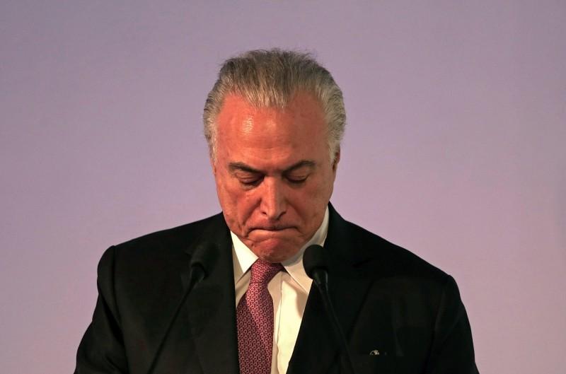 前總統貪汙被逮 巴西股市跌落10萬點大關