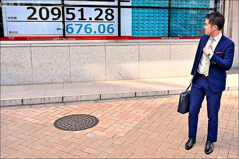 美經濟恐減速 全球股市嚇跌
