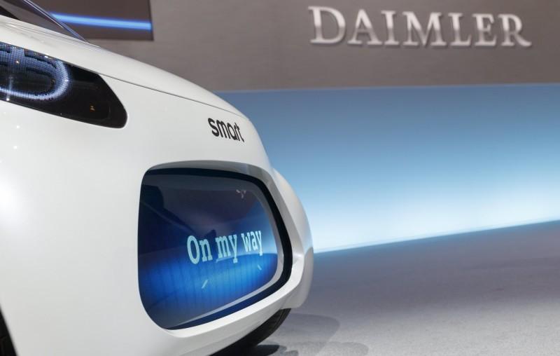 戴姆勒擬出售旗下Smart 5成股權給吉利汽車