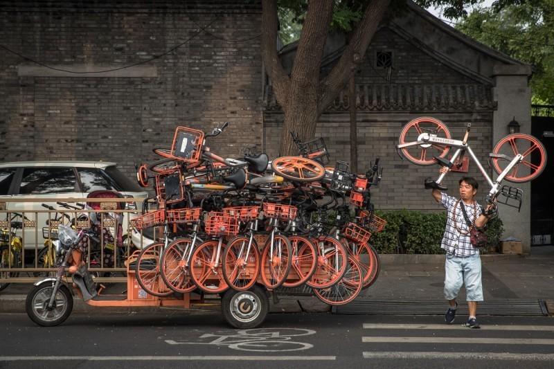 摩拜和小藍單車漲價了!起步價人民幣1元
