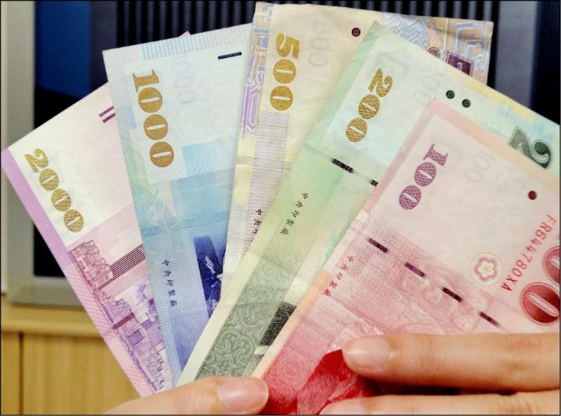 台幣升1.4分 收30.866元