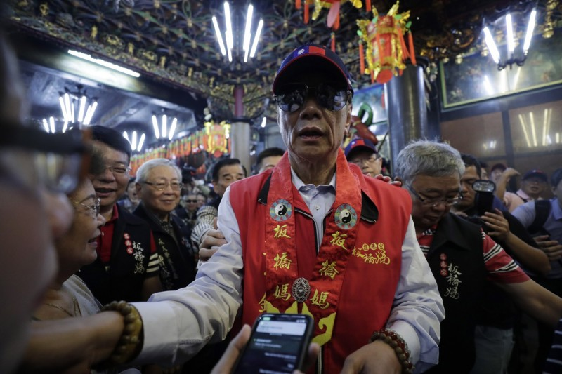 郭董參選總統  港股鴻家軍飆漲、FII爆量漲停