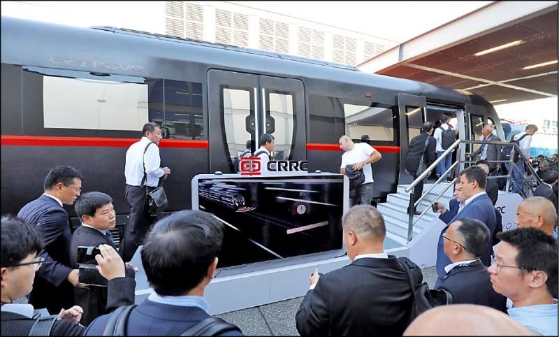 華府採購地鐵列車 中國國企止步