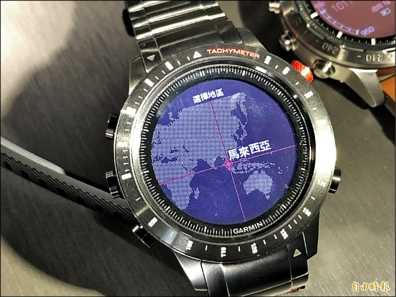 Garmin搶高端市場 智慧手錶要價5.8萬起